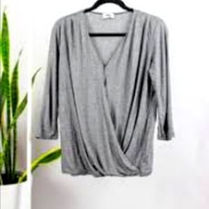 LOLE GREY TOP SIZE X SMALL
